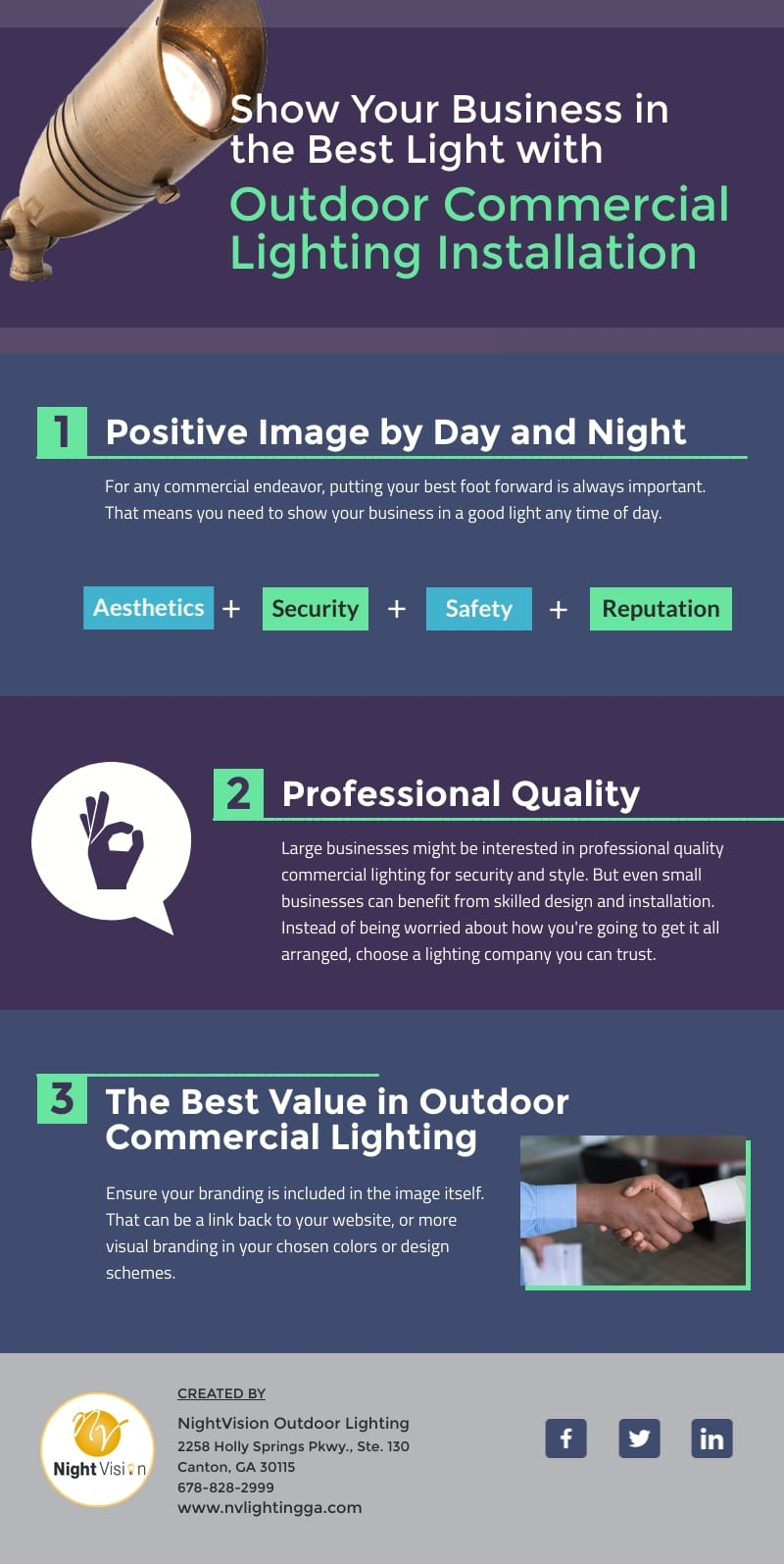 Show Your Business in the Best Light [infographic]