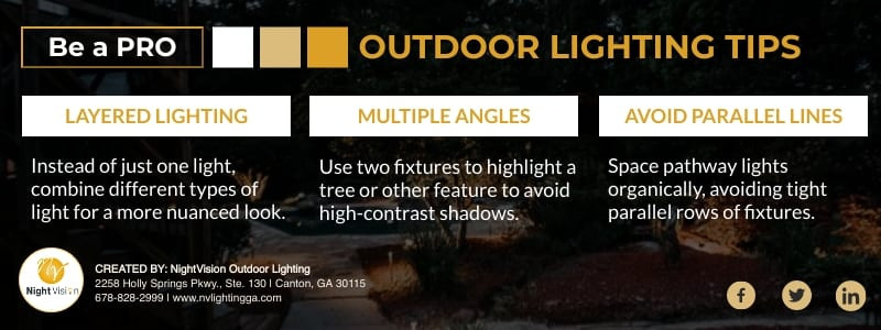 Discover Great Ways Of Lighting Your Yard [infographic]