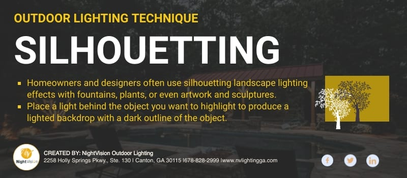 Modern Outdoor Lighting Methods For Homeowners [infographic]